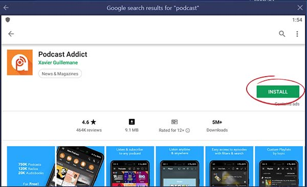 Download Podcast Addict For PC [Windows and Mac] - Tutorials